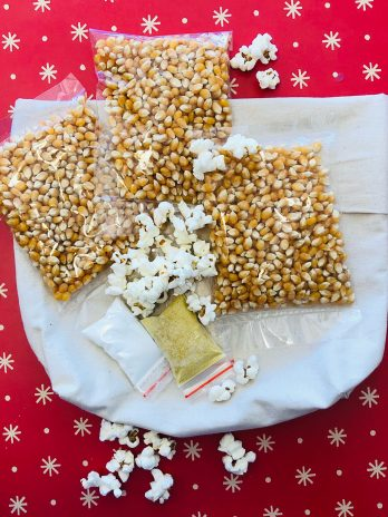 Reusable Microwave Popcorn Bag